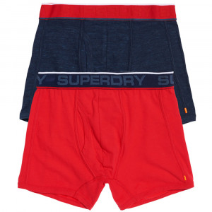 Tipped Sport Boxer Pack 2 Homme