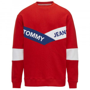 Tjm Chevron Crew Sweat Homme