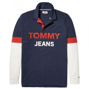 Tjm Logo Rugby Shirt Polo Ml Homme