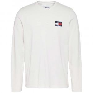Tjm Tommy Badge T-Shirt Ml Homme