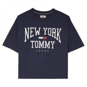 Tjw Boxy New York Te T-Shirt Mc Femme