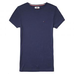 Tjw Fitted Rib Tee T-Shirt Mc Femme