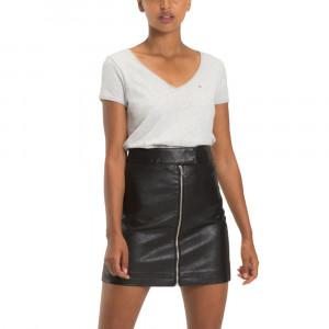 Tjw Soft Jersey V-Ne T-Shirt Mc Femme