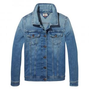 Tjw Vivianne Slim Trucker Jacket Veste En Jean Femme