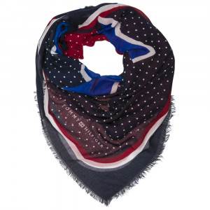 Tommy Dots Square Foulard Femme