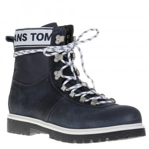 Tommy Jeans Canvas Bottines Homme