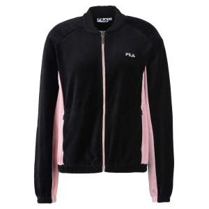 Track Jacket Velvet Bodil Sweat Zip Femme