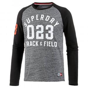 Trackster Baseball L/s T-Shirt Ml Homme