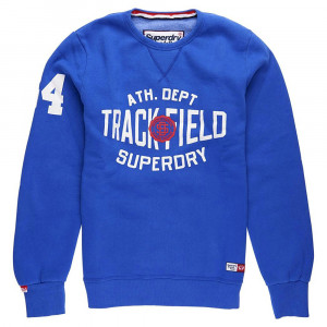 Trackster Crew Sweat Homme