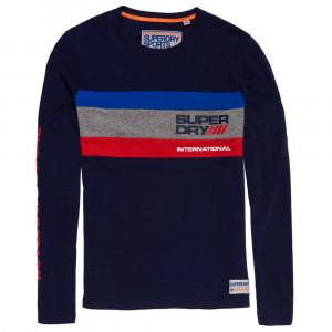 Trophy Tri Colour L/s T-Shirt Ml Homme