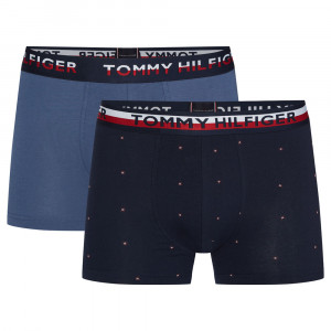 Trunk Print Pack 2 Boxers Homme