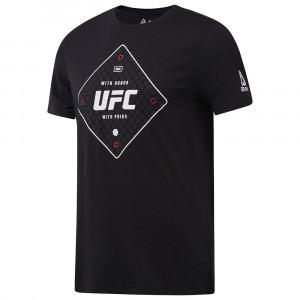 Ufc Fg Text T-Shirt Mc Homme