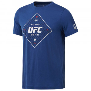 Ufc Fg Text T-Shirt Mc Homme