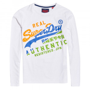 Vintage Authentic Xl L/s T-Shirt Ml Homme