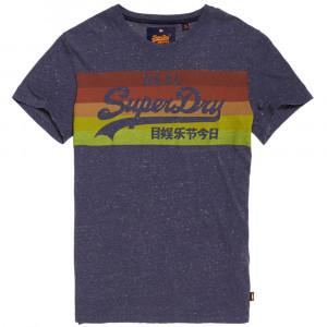 Vintage Logo Cali Stripe T-Shirt Mc Homme