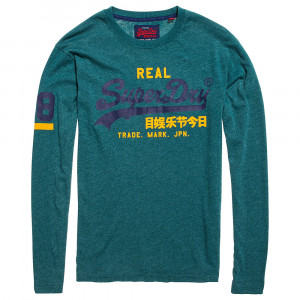 Vintage Logo Duo L/s T-Shirt Ml Homme