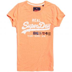 Vintage Logo Foil Pop Entry T-Shirt Mc Femme