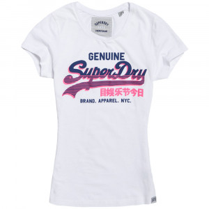 Vintage Logo Genuine T-Shirt Mc Femme