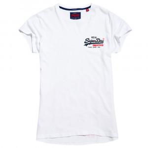 Vintage Logo Long Line T-Shirt Mc Homme