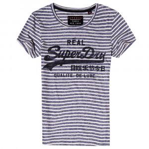 Vintage Logo Stripe Entry T-Shirt Mc Femme