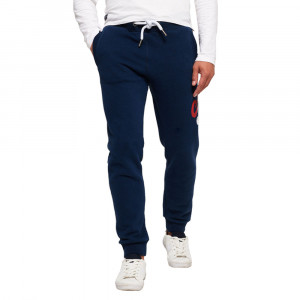 Vintage Logo Tri Col Pantalon Jogging Homme