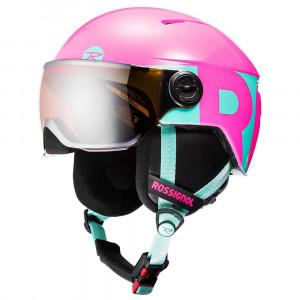 Visor Jr Casque Ski Fille