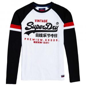 Vl Tri Colour Raglan T-Shirt Ml Homme