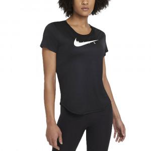 W Nk Swoosh Run Top T-Shirt Mc Femme