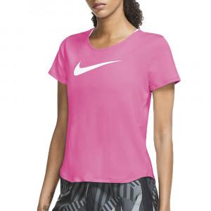 W Nk Swoosh T-Shirt Mc Femme