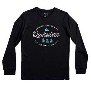 Waves Slaves T-Shirt Ml Garçon