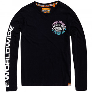 World Wide Ticket Type L/s T-Shirt Ml Homme