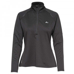 Wynona Run Brushed Sweat 1/2 Zip Femme