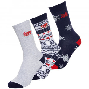 Xmas Novelty Pack 3 Chaussettes Femme