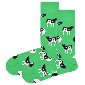 Ying Yang Cow Chaussettes Homme