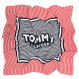 Tommy Patch Square Foulard Femme