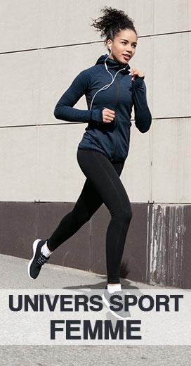Tout l'univers sport pour la femme