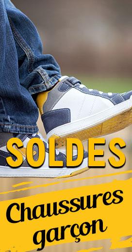 Soldes sur les chaussures pour garçons